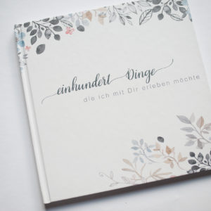 "Buch ""100 Dinge"""